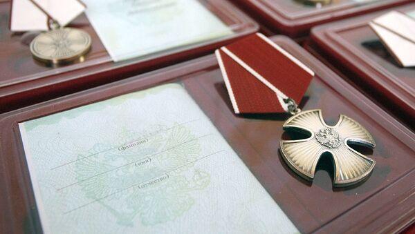 Medal Za spaseniye pogibavshix - Sputnik Oʻzbekiston