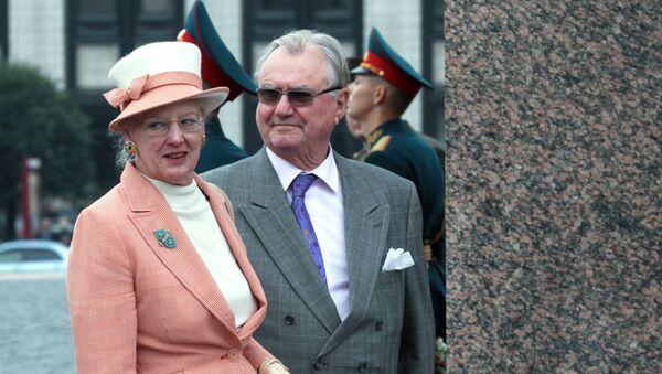 Датская королевская семья в Санкт-Петербурге - Sputnik Узбекистан