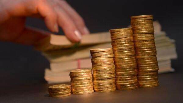 Монеты и денежные знаки, архивное фото - Sputnik Ўзбекистон