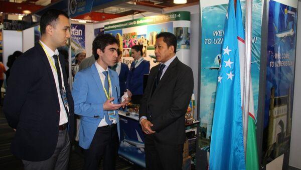 Uzbekistan Airways впервые представила свои услуги на международной туристической выставке в Таиланде - Sputnik Узбекистан