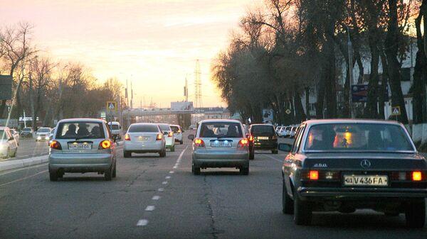 Автомобильная трасса в Ташкенте - Sputnik Ўзбекистон