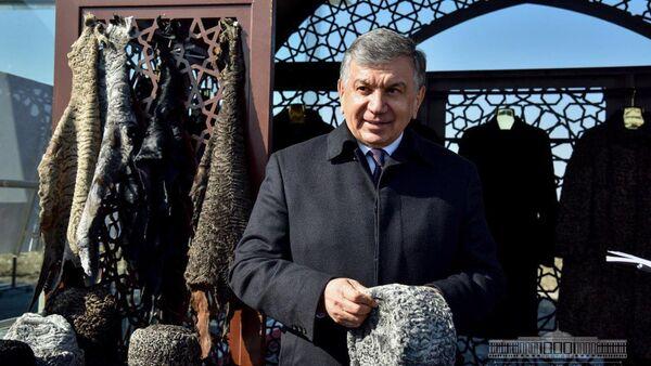 Шавкат Мирзиёев поручил создать специализированный институт и фонд для развития каракулеводства - Sputnik Ўзбекистон