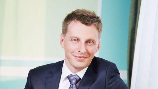Начальник отдела международных продаж Ростелекома Павел Антоненко - Sputnik Узбекистан