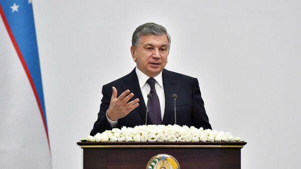 Президент Узбекистана Шавкат Мирзиёев на заседании в Бухарской области - Sputnik Ўзбекистон