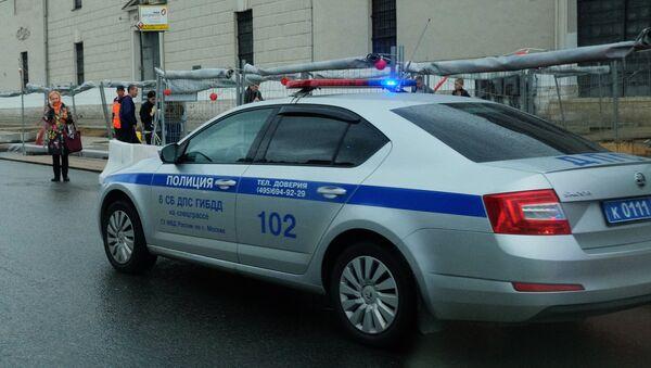Автомобиль полиции - Sputnik Ўзбекистон