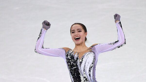Олимпиада 2018. Фигурное катание. Женщины. Короткая программа - Sputnik Ўзбекистон