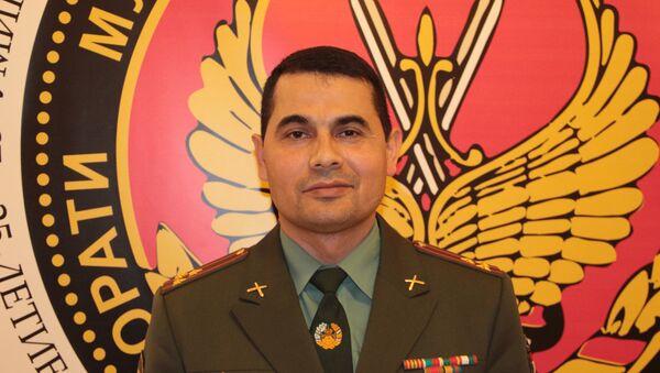 Ахрор Хасанов, полковник артиллерии ВС РТ - Sputnik Узбекистан