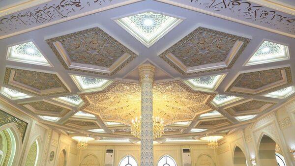 В Шайхантахурском районе Ташкента состоялось открытие отремонтированной соборной мечети Хувайдо - Sputnik Узбекистан