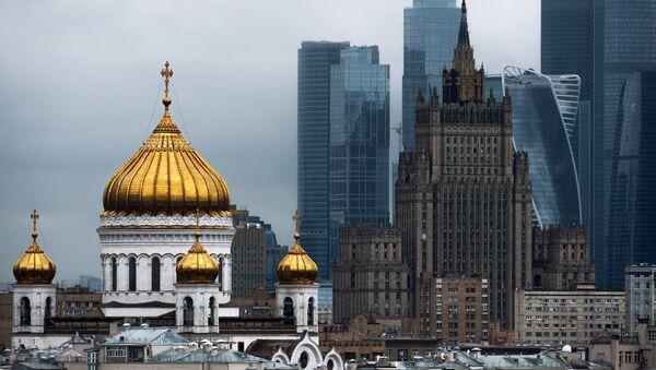Moskva, TIV binosi. - Sputnik Oʻzbekiston