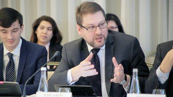 Глава Делегации Европейского союза в Узбекистане Эдуардс Стипрайс - Sputnik Узбекистан