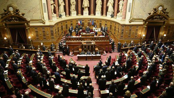 French Senate. (File) - Sputnik Ўзбекистон
