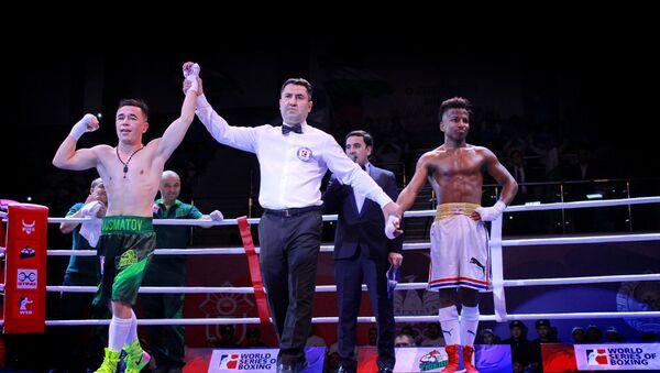 Победа Uzbek Tigers в матче VIII сезона Всемирной серии бокса против Cuba Domadores - Sputnik Узбекистан