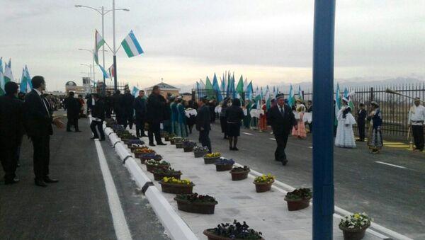 Otkrыtiye KPP Jartepa mejdu Uzbekistanom i Tadjikistanom - Sputnik Oʻzbekiston