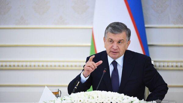 Prezident Respubliki Uzbekistan Shavkat Mirziyoyev - Sputnik Oʻzbekiston