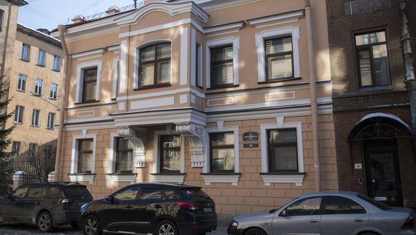 Здание по адресу 4-я Красноармейская улица дом 4А в Санкт-Петербурге, где располагается генеральное консульство Узбекистана в России. - Sputnik Узбекистан