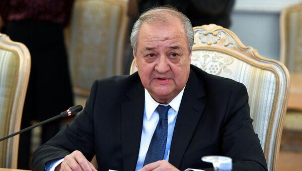 Министр иностранных дел Узбекистана Абдулазиз Камилов - Sputnik Узбекистан