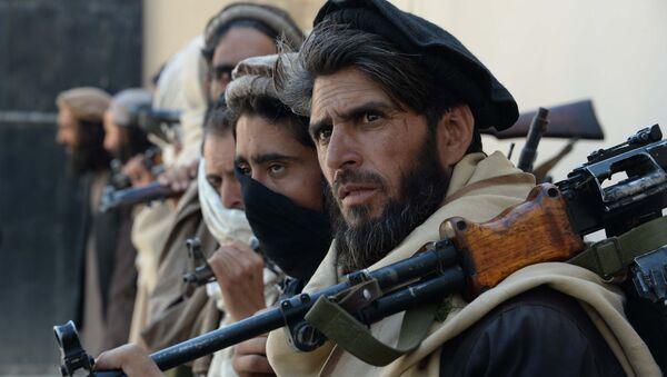 Chlenы dvijeniya Taliban (zapreщeno v RF), Afganistan. Arxivnoye foto - Sputnik Oʻzbekiston