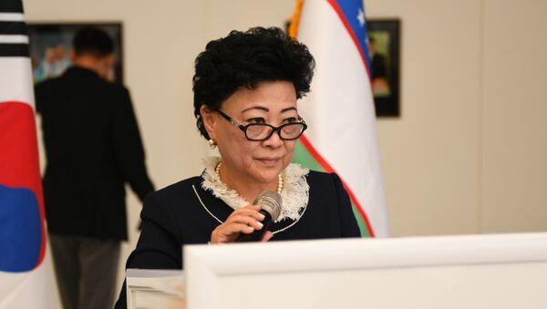 Ministr doshkolnogo obrazovaniya Uzbekistana Agrippina Shin - Sputnik Oʻzbekiston