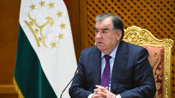 Президент Таджикистана Эмомали Рахмон, архивное фото - Sputnik Ўзбекистон