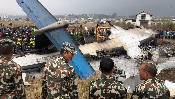 Крушение самолета в Непале - Sputnik Узбекистан