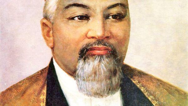 Великий казахский поэт и мыслитель Абай Кунанбаев - Sputnik Узбекистан