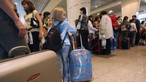В международном аэропорту Домодедово - Sputnik Узбекистан