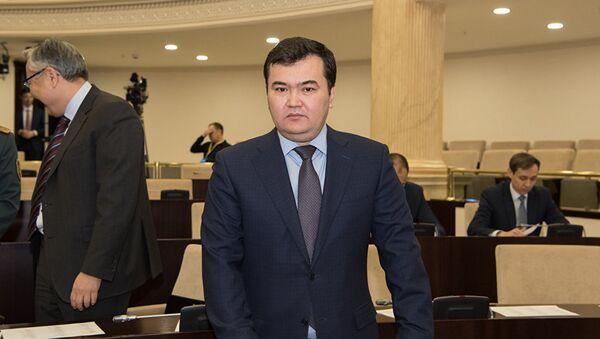 Министр по инвестициям и развитию Казахстана Женис Касымбек - Sputnik Узбекистан