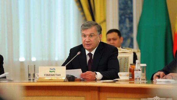 Шавкат Мирзиёев на встрече глав стран ЦА в Казахстане - Sputnik Ўзбекистон