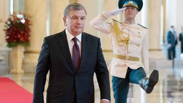 Шавкат Мирзиёев во время встречи глав ЦА в Астане - Sputnik Ўзбекистон