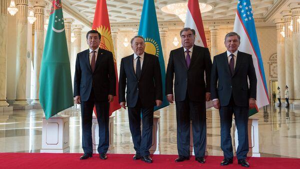 Главы стран ЦА на встрече в Астане - Sputnik Ўзбекистон