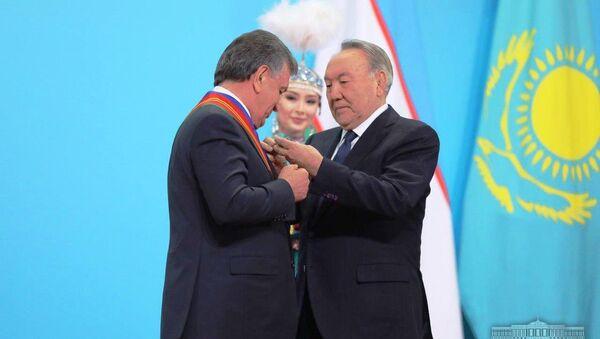 Шавкат Мирзиёев награжден орденом 1-степени Достик - Sputnik Ўзбекистон