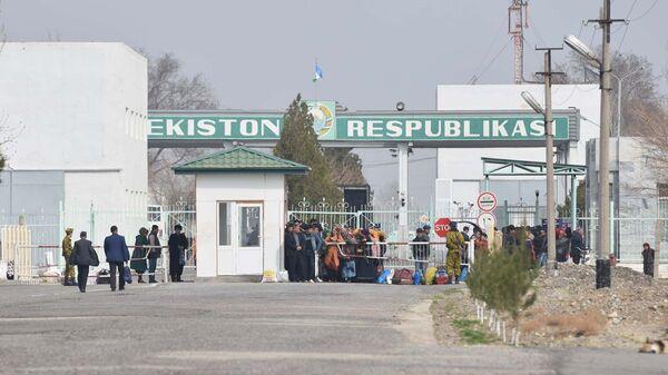KPP Patar v Kanibadame, arxivnoye foto - Sputnik Oʻzbekiston