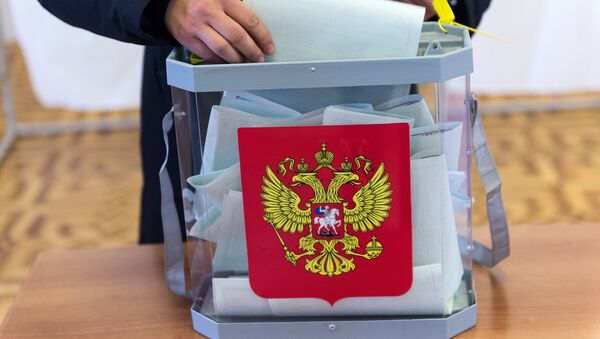 на выборах президента РФ - Sputnik Узбекистан