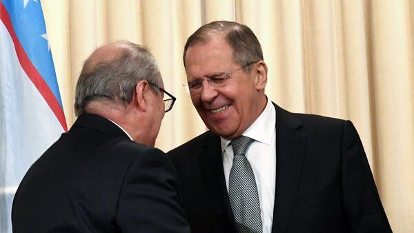 Встреча глав МИД РФ и Узбекистана С. Лаврова и А. Камилова - Sputnik Ўзбекистон
