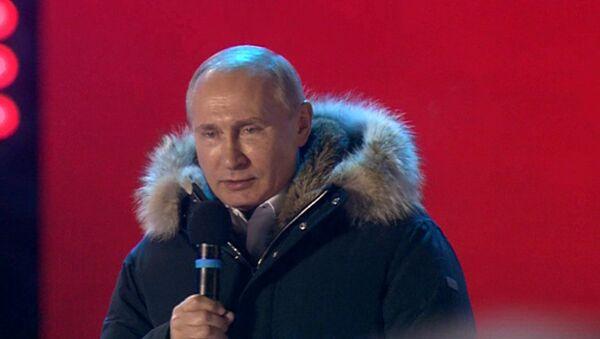 Путин о голосовании на выборах: Вижу в этом доверие и надежду - Sputnik Узбекистан