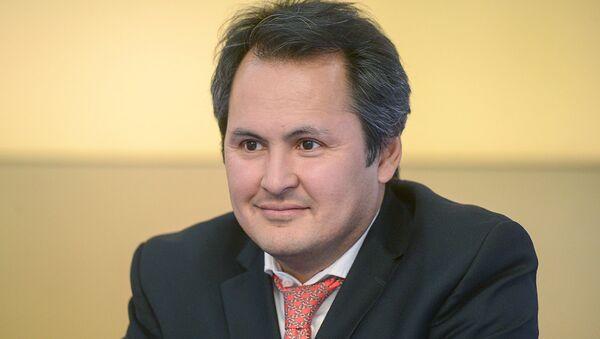 Predsedatel Uzbekskoy natsionalno-kulturnoy avtonomii  v gorode Moskva Xabib Abdullayev - Sputnik Oʻzbekiston