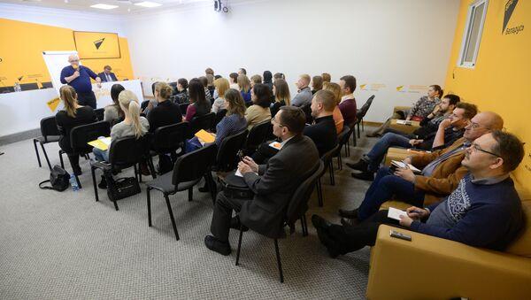 Мастер-класс в Минске в рамках проекта SputnikPro - Sputnik Узбекистан