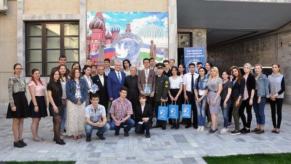 Международный день поэзии в РЦНК в Ташкенте - Sputnik Узбекистан