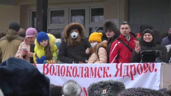 СПУТНИК_Акция протеста у Волоколамской районной больницы - Sputnik Узбекистан