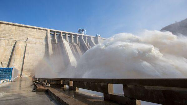 Плотина ГЭС - Sputnik Узбекистан