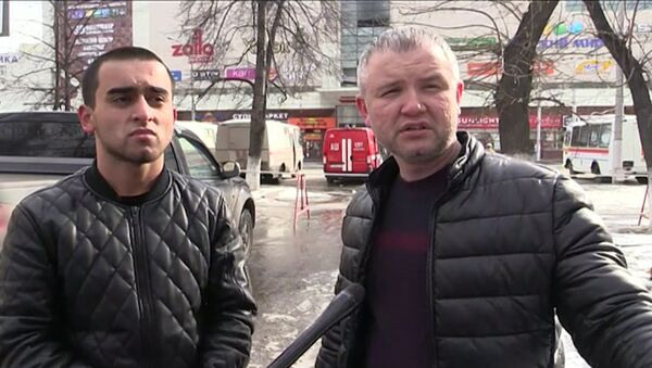 Махмуд Художаев и Фарзон Салилов рассказали, как спасли 50 человек из горящего ТЦ в Кемерове - Sputnik Ўзбекистон