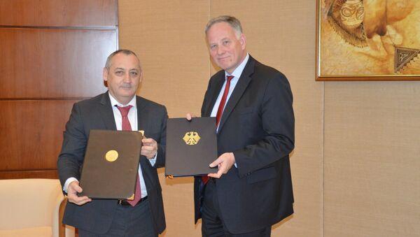 Правительства Германии и Узбекистана заключили соглашение о финансовом сотрудничестве - Sputnik Ўзбекистон