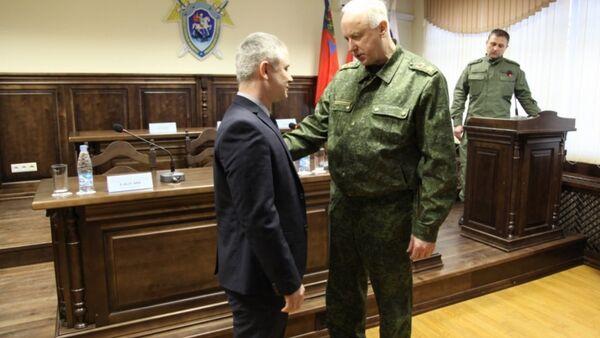 Aleksandr Bastrыkin nagradil Farzona Salimova za spaseniye lyudey v Kemerovo - Sputnik Oʻzbekiston