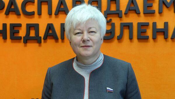 Член Комитета Совета Федерации России по международным делам Ольга Тимофеева - Sputnik Ўзбекистон