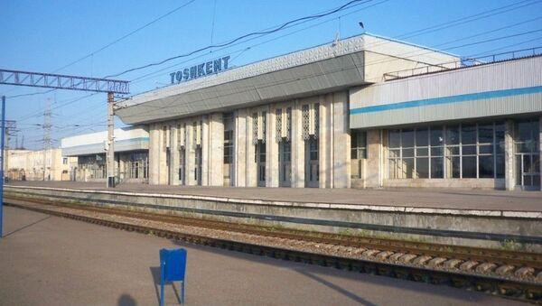 Южный вокзал до реставрации - Sputnik Ўзбекистон