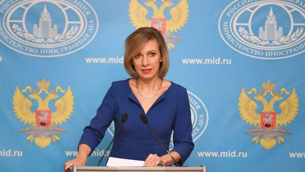 Официальный представитель Министерства иностранных дел РФ Мария Захарова - Sputnik Узбекистан