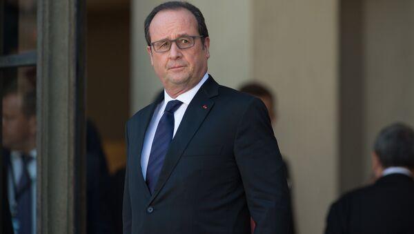 Франция президенти Франсуа Олланд - Sputnik Ўзбекистон