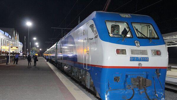 Вокзал Ташкент-Южный после реконструкции - Sputnik Ўзбекистон