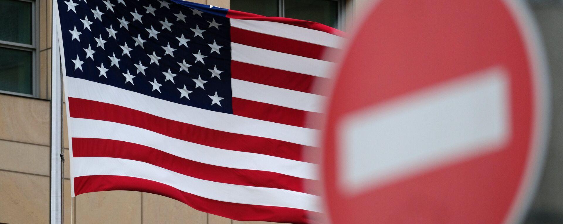 Флаг Соединенных Штатов Америки. - Sputnik Узбекистан, 1920, 14.06.2021