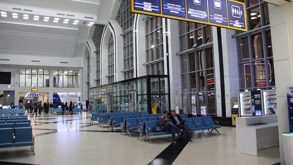 Зал ожидания вокзала Ташкент-Южный - Sputnik Ўзбекистон